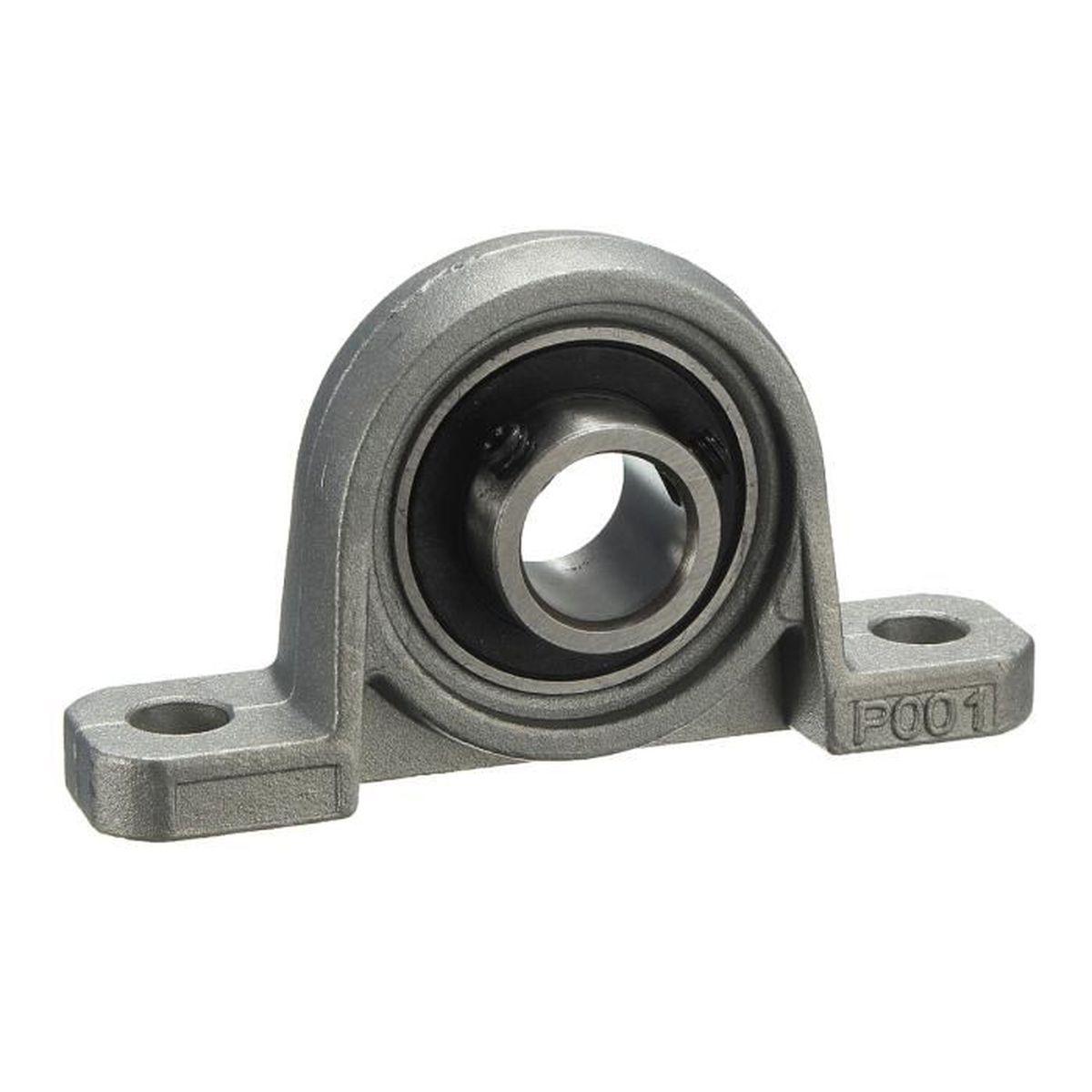 12mm metal palier roulement bille bloc deux boulon al sage zinc alliage kp001 achat vente. Black Bedroom Furniture Sets. Home Design Ideas