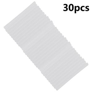 PISTOLET A COLLE 30pcs 7mm colle thermofusible transparente non-tox