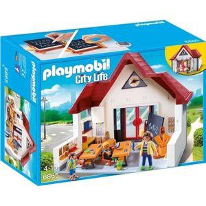TABLE JOUET D'ACTIVITÉ Playmobil ecole avec salle de classe