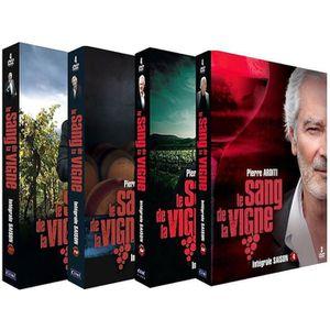 DVD SÉRIE LE SANG DE LA VIGNE - INTEGRALE DES SAISONS 1 à 4