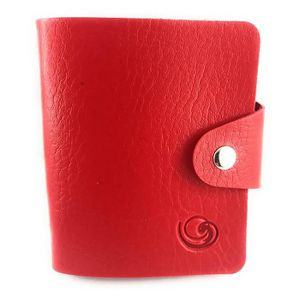 CARTE A COLLECTIONNER Mini classeur souple Lagiwa® ROUGE pour Cartes Pok