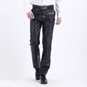pantalon cuir homme achat vente pantalon cuir homme. Black Bedroom Furniture Sets. Home Design Ideas