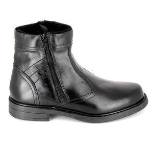 Automne Bottes à fond chaussures élevées version coréenne de chaussures pour les hommes britanniques, noir 39