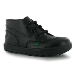 BASKET Kickers Enfants Chaussures Mocassins En Cuir