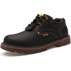 Chaussures Hommes Cuir Respirant mode Homme chaussure de ville BLLT-XZ200Noir38 l9G6A