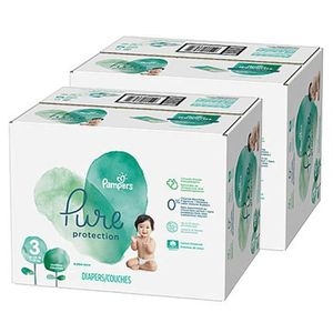 COUCHE 154 Couches Pampers Pure Protection taille 3