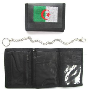 PORTE MONNAIE PORTEFEUILLE ALGERIE ALGERIEN - No écharpe drapeau