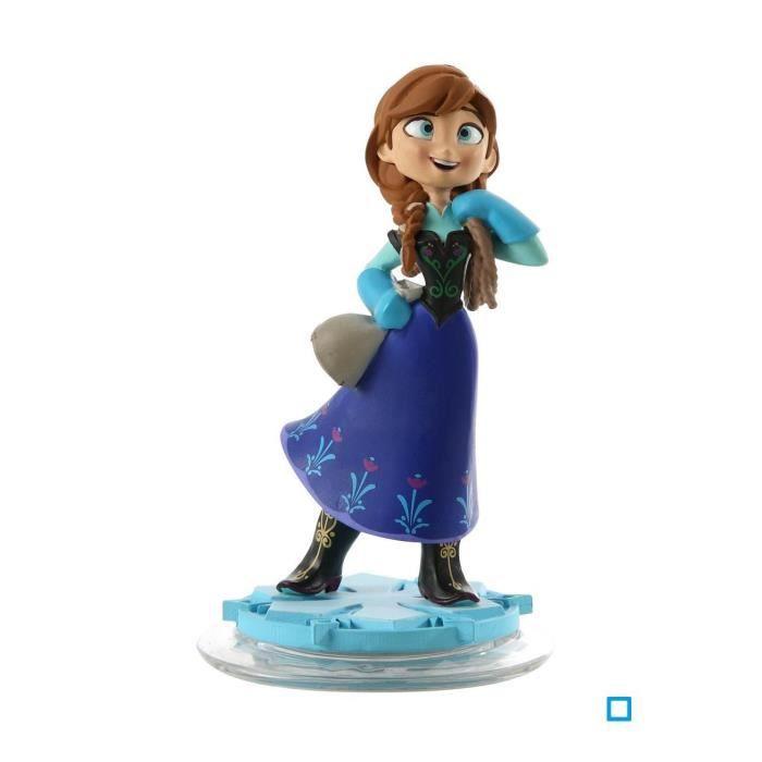 FIGURINE DE JEU Figurine Anna La Reine des Neiges Disney Infinity