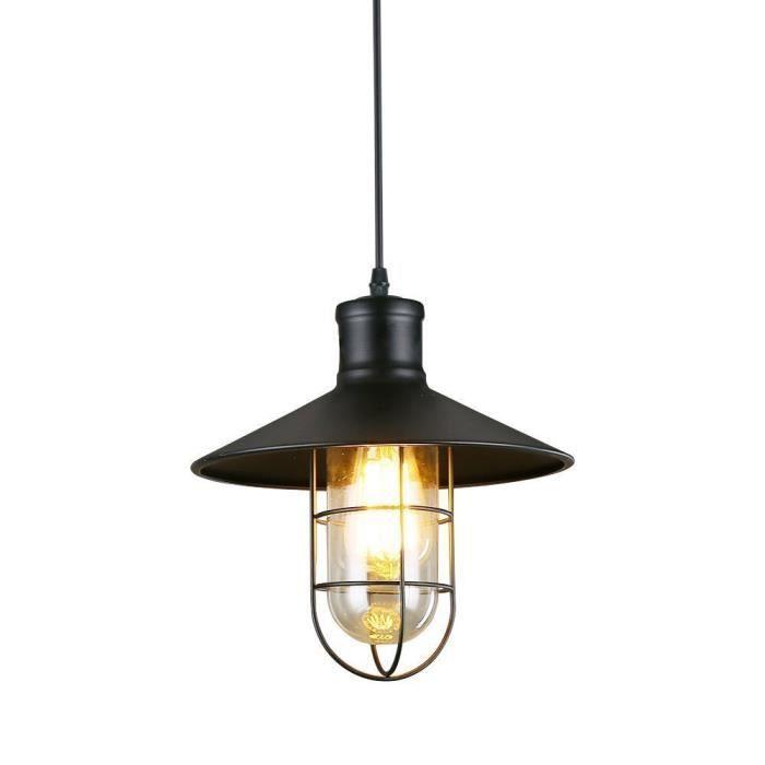 luminaire cuisine noire industrielle achat vente pas cher. Black Bedroom Furniture Sets. Home Design Ideas