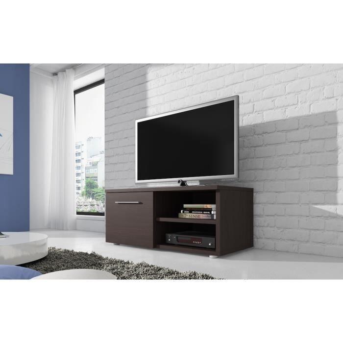 meuble tv wenge. Black Bedroom Furniture Sets. Home Design Ideas