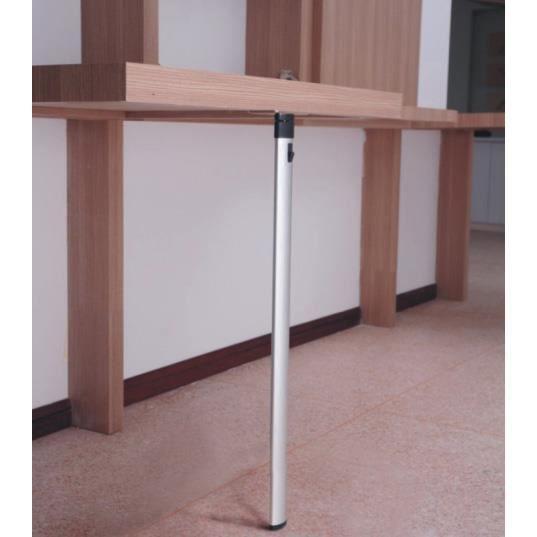 pied de table rabattable fixe dm597 achat vente pied de table pied de table rabattable fi. Black Bedroom Furniture Sets. Home Design Ideas