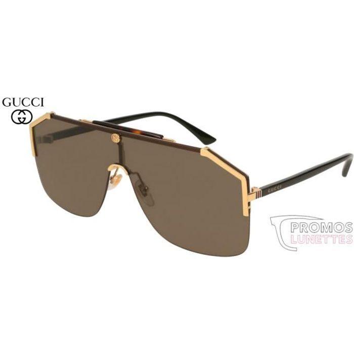 Lunettes de soleil Gucci GG0291S-002 99 - Achat   Vente lunettes de ... 405fd21e240e