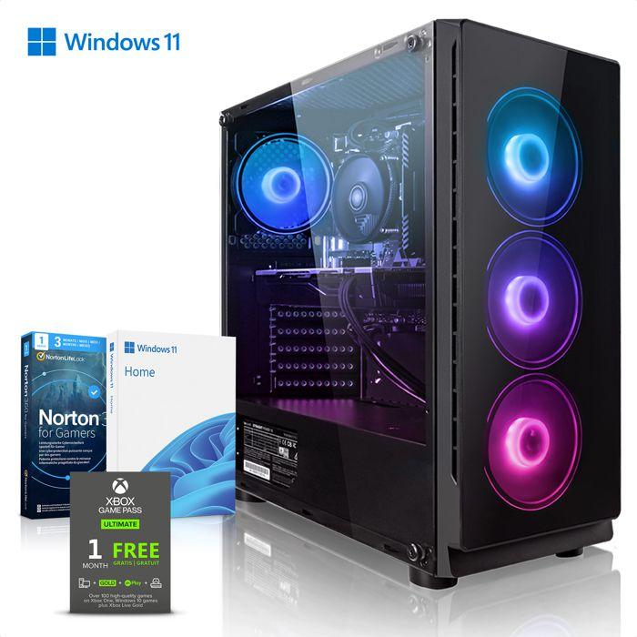 UNITÉ CENTRALE  Megaport PC Gamer Premium Intel Core i7-8700 6x 4,