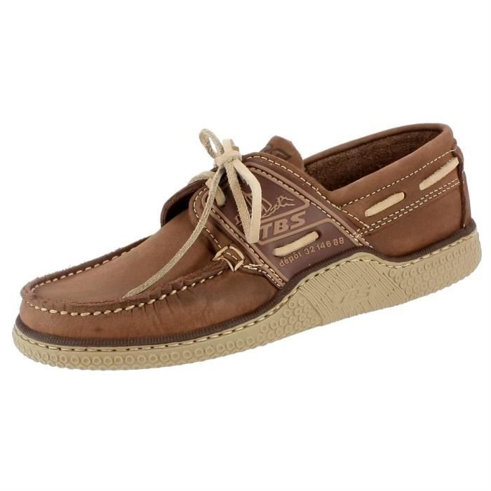9ed45cb38bfe7 Chaussures a lacets globek homme tbs globek Beige Beige - Achat ...