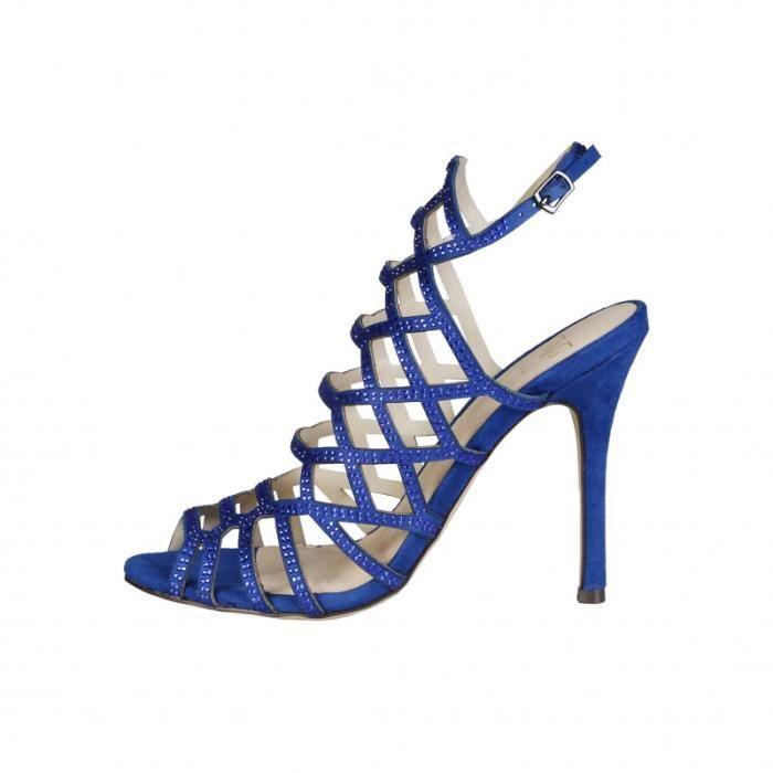 Sandale Sandales 1969 Pour Nu pieds Femme Bleu V rw6grqZH