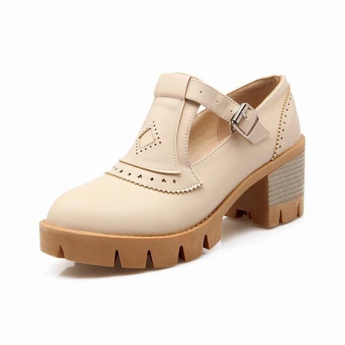 Chaussures Femme En PU Cuir élégante Toutes les pointures de la 35 à la 43 lMCv9Sk7Ie