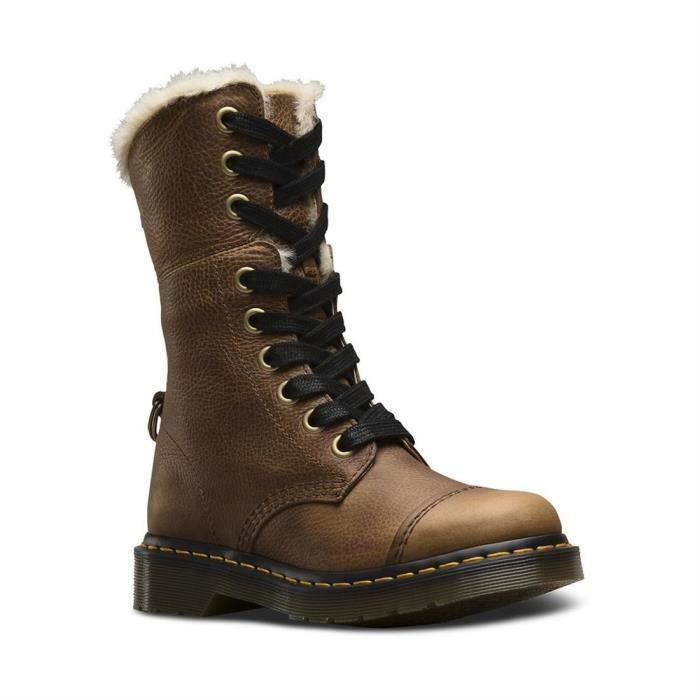 e9bbd11a23d78 Bottines   low boots aimilita fl femme dr.martens aimilita fl Beige ...