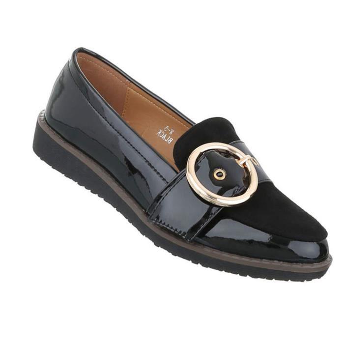 Chaussures femmes flâneurs babouche noir 41