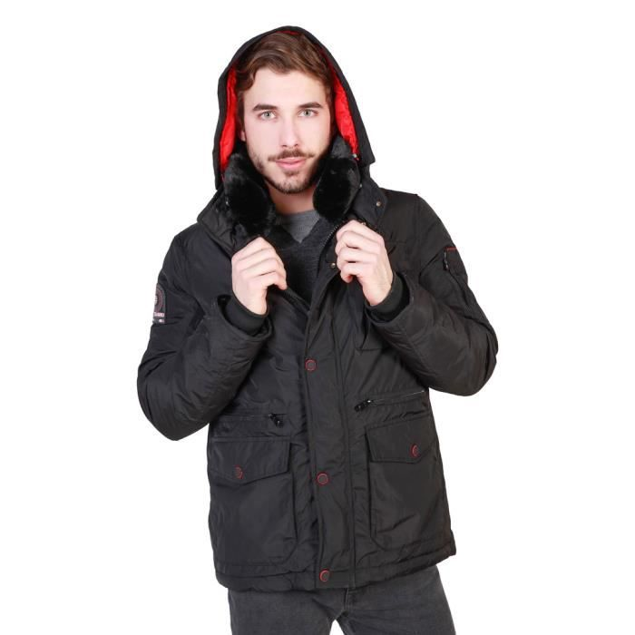 black Geographical Blouson Pour candidat Norway Homme Noir man aYnUYw7qxr
