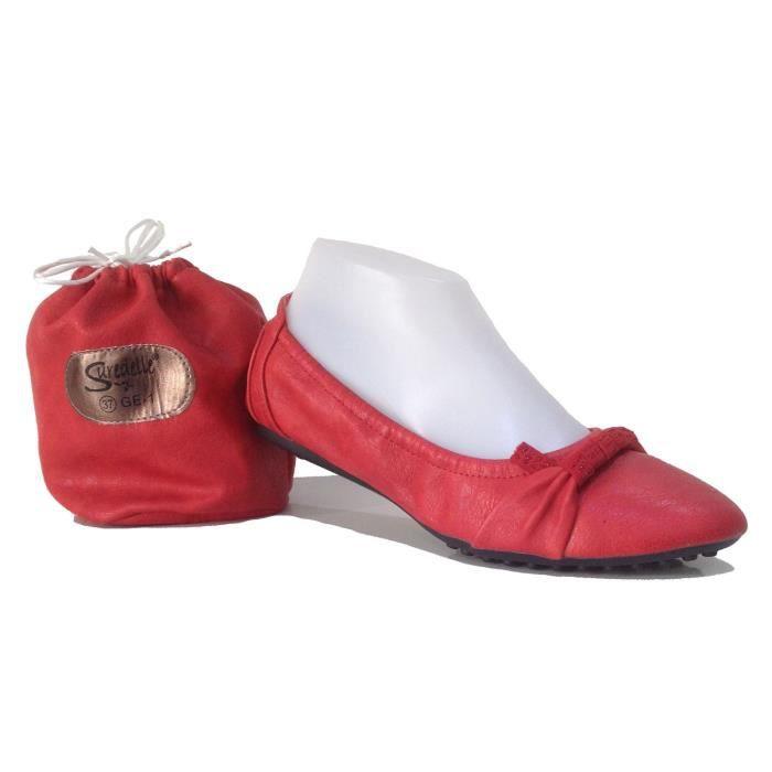 Suredelle elen Rouge Ballerines Ge1 Ref rrY5qR