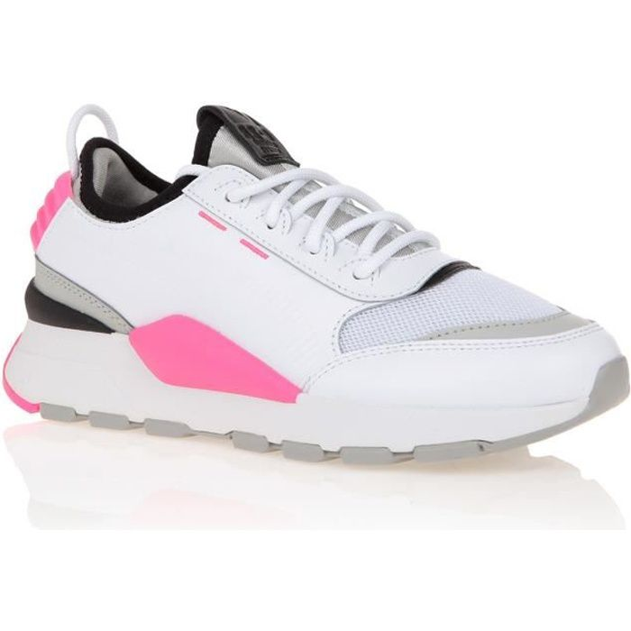 PUMA Baskets RS 0 Sound Femme Blanc et rose