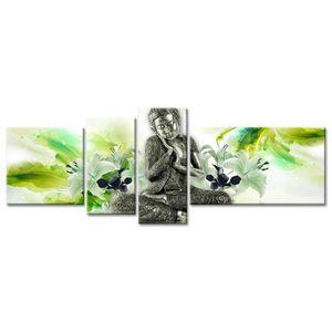 TABLEAU - TOILE Tableau Déco Zen Relaxation - 160x60 cm
