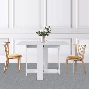 TABLE À MANGER SEULE MISS Table Extensible Cuisine Table à Manger de 4