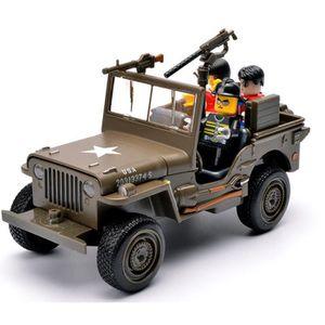 VOITURE À CONSTRUIRE 1:32 Jeep véhicule modèle voitures jouet collectio