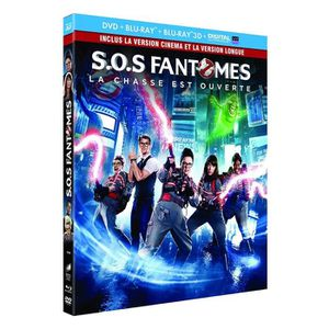 67086f1e6d700 DVD FILM SOS Fantômes [Combo Blu-ray 3D + Blu-ray 2D versio