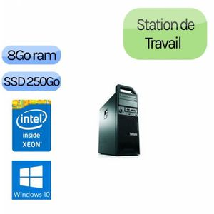 UNITÉ CENTRALE  Lenovo ThinkStation S30 TW - Windows 10 - E5-1620