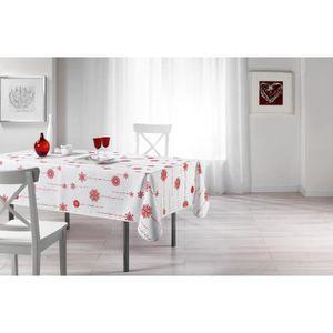 nappe rouge et blanc achat vente pas cher. Black Bedroom Furniture Sets. Home Design Ideas