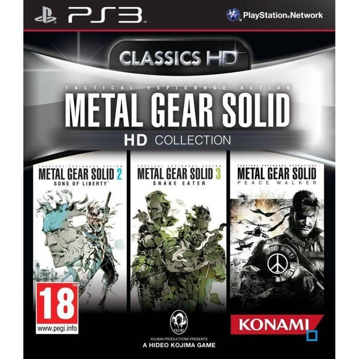 JEU PS3 METAL GEAR SOLID HD COLLECTION / Jeu PS3