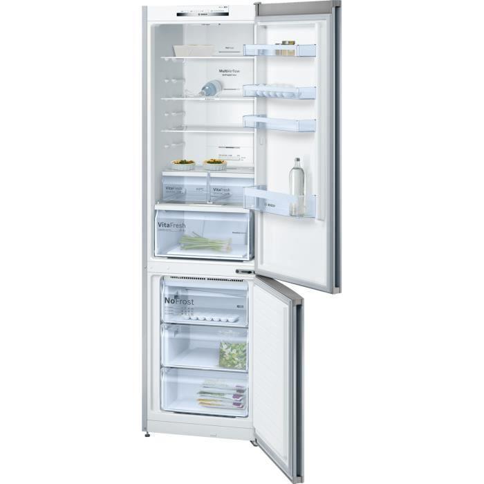 BOSCH - KGN39VI35 - Réfrigérateur combiné - 366L (279 + 87) - NoFrost MultiAirFlow - A++ - L60cm x H
