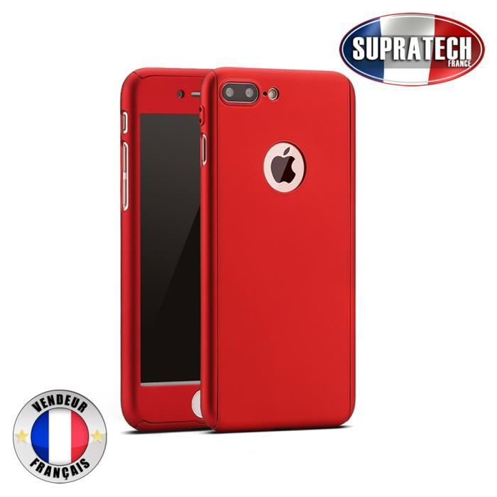 coque iphone 7 protection rouge