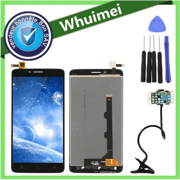 Noir Tactile Vitre + Écran LCD avec un kit d'outils Pour Coolpad T-Mobile  Revvl Plus C3701A + Cadeau