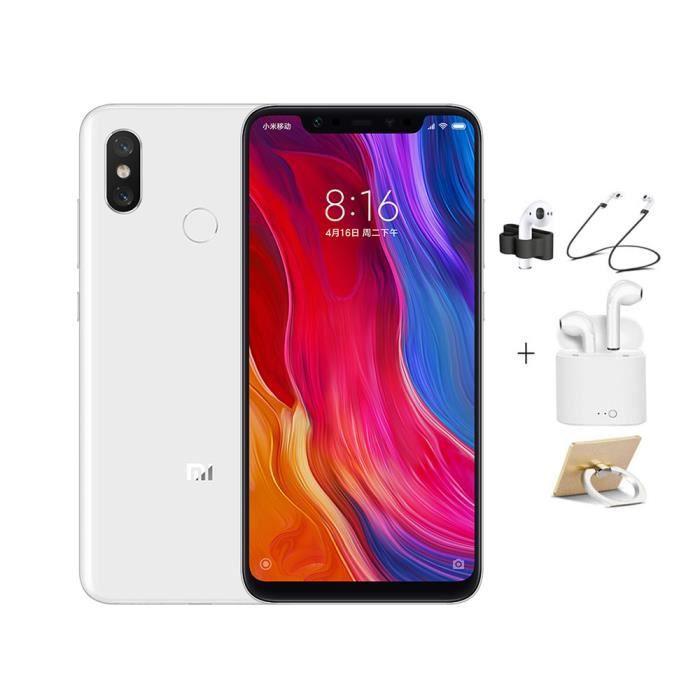 SMARTPHONE XIAOMI 8 Smartphone de jeu plein écran (6 Go + 256