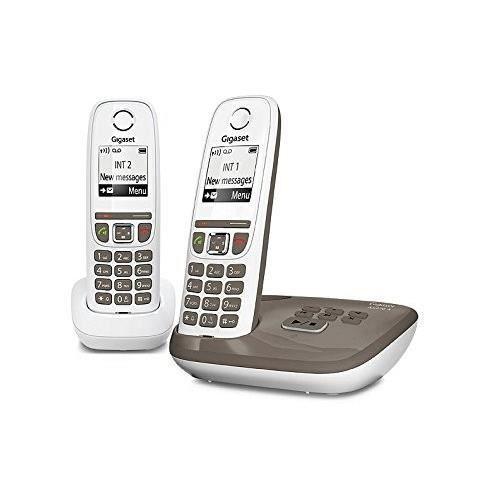 f65d5d9e96ac0a Gigaset AS470A Duo Umbra - Téléphone DECT - Répondeur - Pack Duo ...