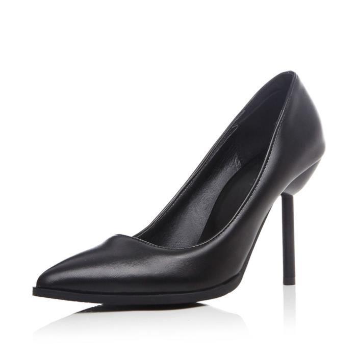 Escarpins Femmes Nouvelle Mode Couleur Pure élégance Taille 34-43