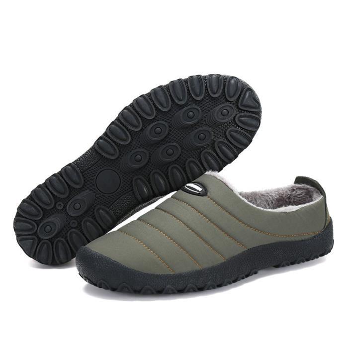 Coton Chaussure Loisirs Garder au chaud Mocassins Qualité Supérieure Nouvelle Mode Homme Mocassin Confortable Plus Taille 39-46
