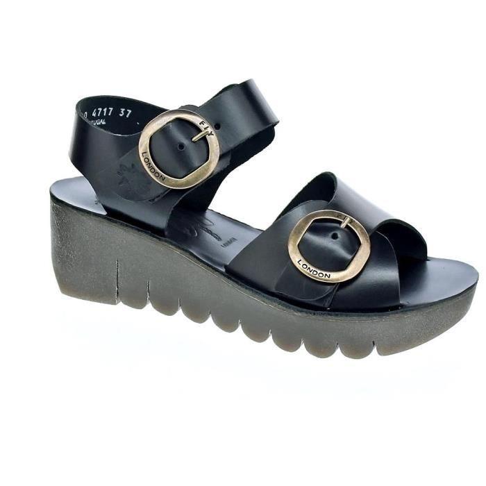 OSVALDO PERICOLI , sandale en cuir souple beige, talon 8cm et semelle en caoutchouc, AN240 E17