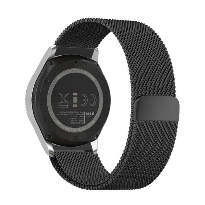 bracelet montre samsung gear s3 achat vente pas cher. Black Bedroom Furniture Sets. Home Design Ideas