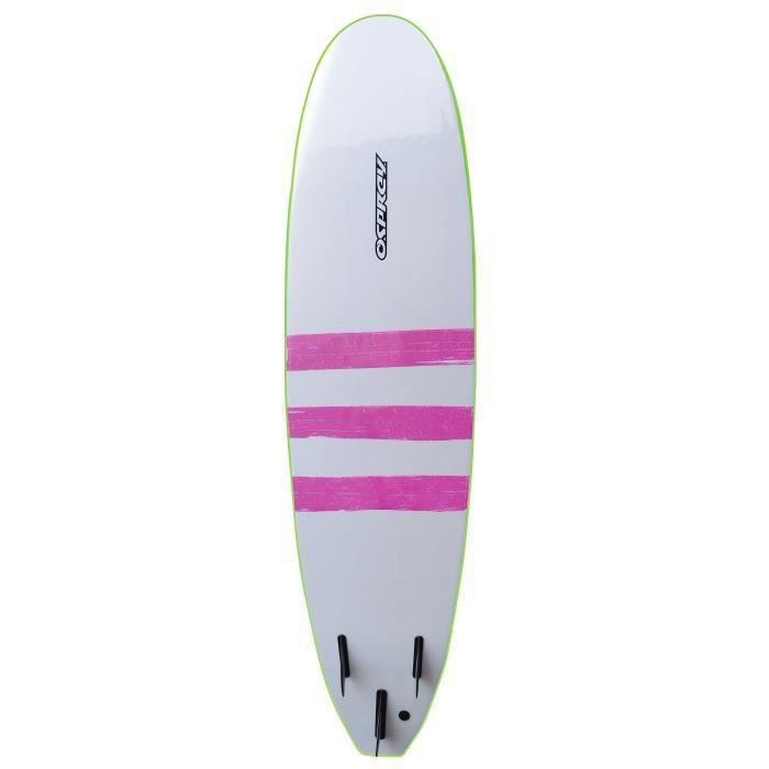 osprey planche de surf mousse 8 39 triband vert citron prix pas cher cdiscount