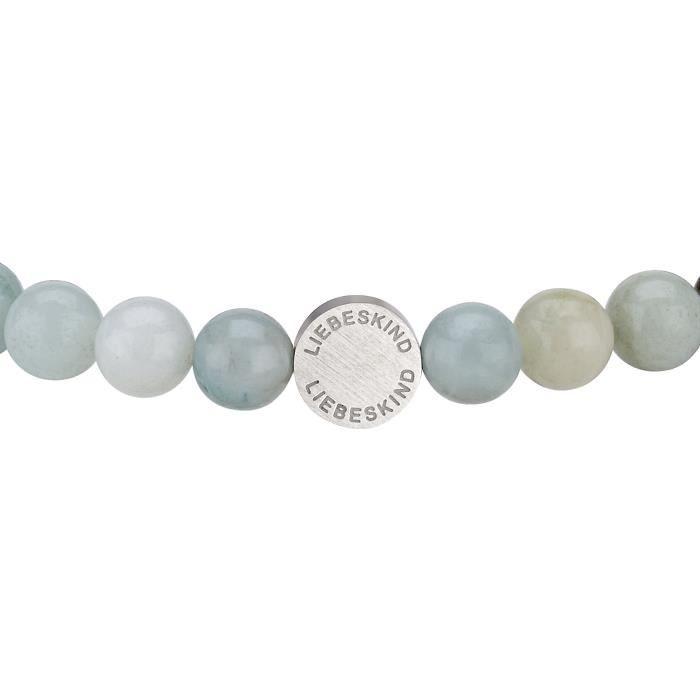 bracelet mat acier inoxydable 17? cm ??? lj 0085, b ??? 17 1I19L3