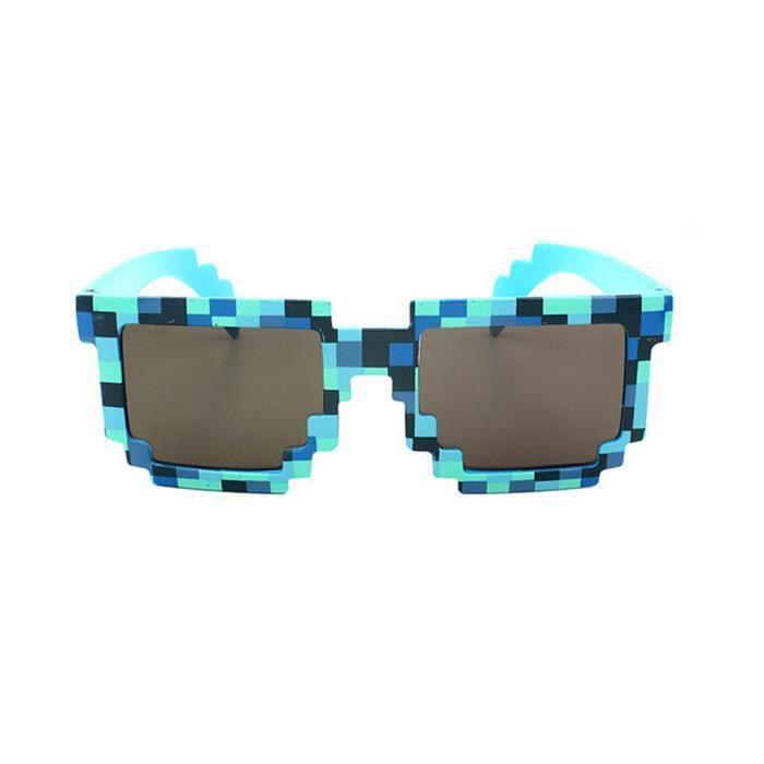 Deuxsuns®Lunettes de soleil mosaïque vintage nouveauté lunettes de soleil  unisexe BU zf34 ... 6286bfcec229