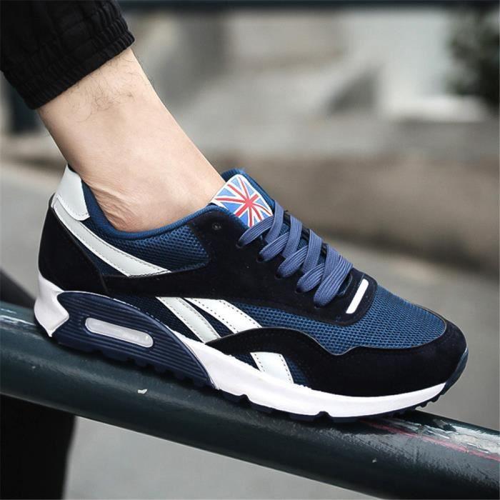Sneakers Hommes Confortable Respirant Chaussures pour homme Automne et hiver Basket Mode Antidérapant Chaussures de course sZfeMwcz5