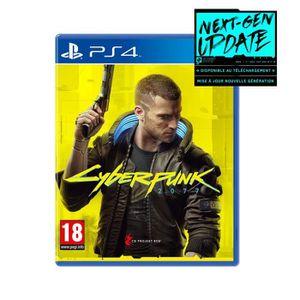 JEU PS4 NOUVEAUTÉ CYBERPUNK 2077 Edition Day One Jeu PS4