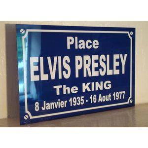 PLAQUE DE PORTE plaque elvis presley objet collector pour fan ... ac91e95061b