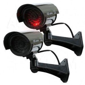 CAMÉRA FACTICE Caméra Factice Sans Fil Avec Led Noir - Système Di