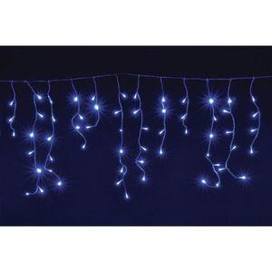 GUIRLANDE D'EXTÉRIEUR CHRISTMAS DREAM Stalactite 128 LED bleu - 3,5 x 0,