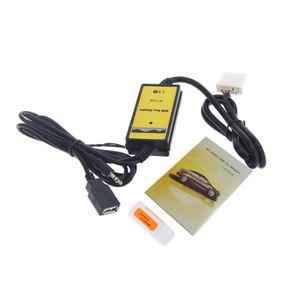 INSTALLATION AUTORADIO Auto Voiture USB Aux-in Adaptateur Câble Lecteur M